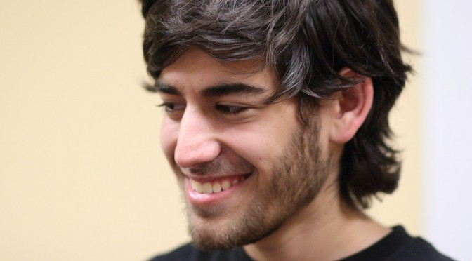 Monday: Honor the Memory of Aaron Swartz