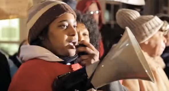 Erica Garner endorsed Bernie Sanders in this great video