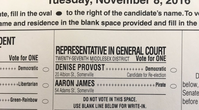 Vote Aaron James for State Representative