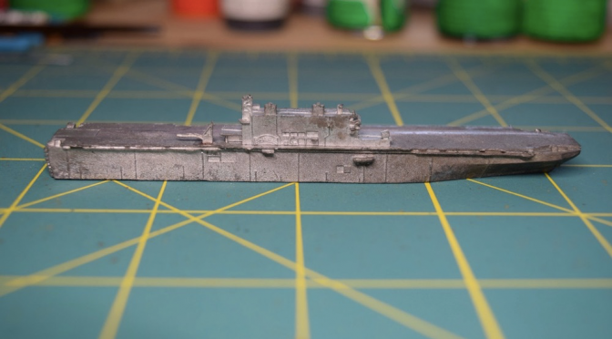 Pictures of GHQ, C-in-C and Viking Forge modern naval miniatures