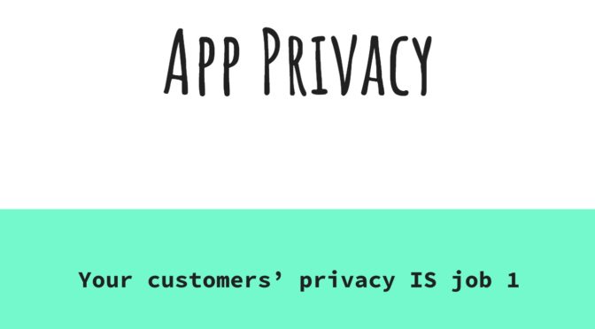 App Privacy Workshop (Updated)